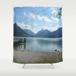 Lake Schliersee Shower Curtain