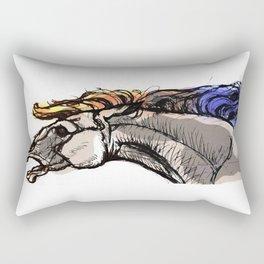 Fury horse Rectangular Pillow