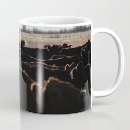Cows, Cows, Everywhere.  Coffee Mug