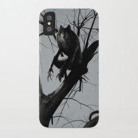 werewolf iPhone & iPod Cases featuring Werewolf by Alex Perkins