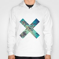 palm trees Hoodies featuring Palm Trees by Zavu