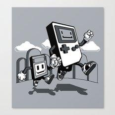 Handheld Mono Canvas Print