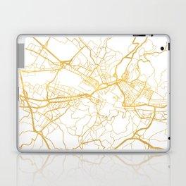 FLORENCE ITALY CITY STREET MAP ART Laptop & iPad Skin