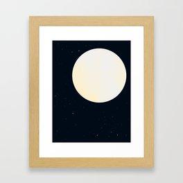Bright Moon Framed Art Print
