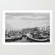Skech port Art Print