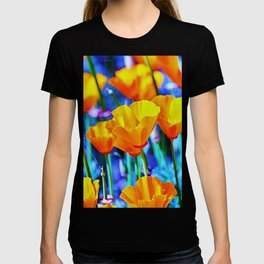 The Poppy Field. © J. Montague. T-shirt