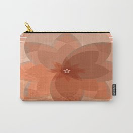 Neutral Circles - Beige Carry-All Pouch