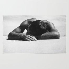 Sunbaker by Max Dupain, 1937 - Australian Photographer Rug
