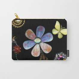 Happy Day in the Garden, Jewelry Scanography Carry-All Pouch