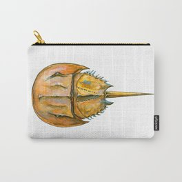 Brown Horseshoe Crab Carry-All Pouch