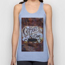 Coffee Time Unisex Tank Top