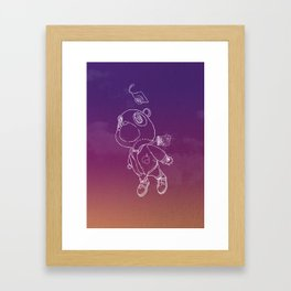 Stronger. Framed Art Print