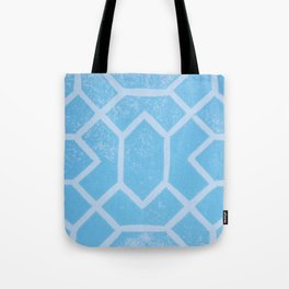 Moroccan Mosaic lino print Tote Bag