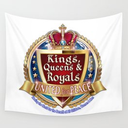 Kings, Queens & Royals United Wall Tapestry