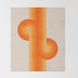 Creamsicle Knots Throw Blanket
