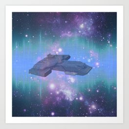 10,000 light years from home Art Print