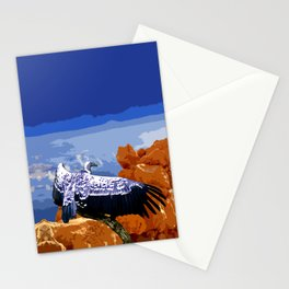 Vulture Spirit Guide Stationery Cards