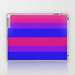 Bisexual Pride Flag v2 Laptop & iPad Skin