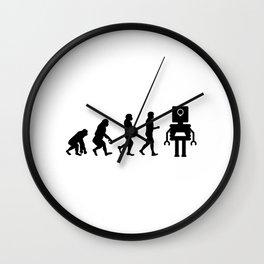 Robotics Robot Evolution Wall Clock