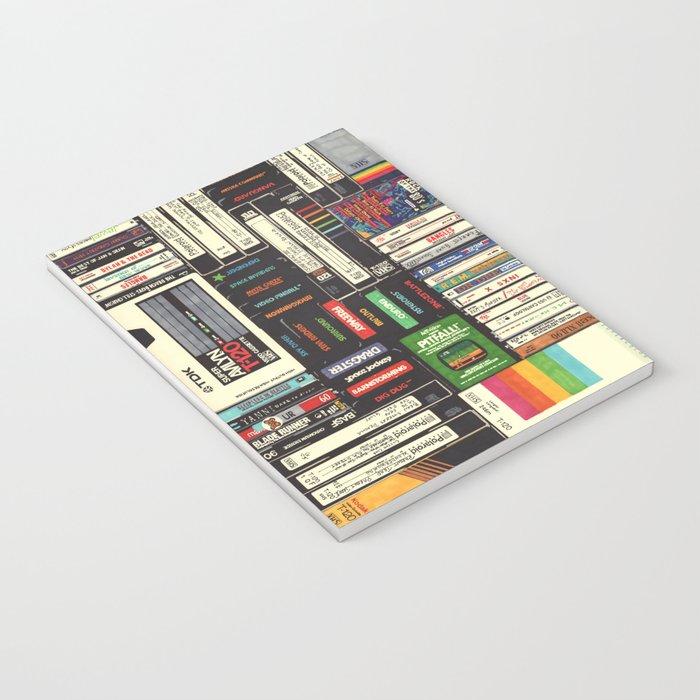 Cassettes, VHS & Games Notebook