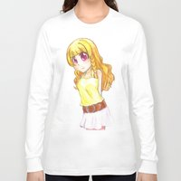 magical girl Long Sleeve T-shirts featuring The girl  by Tilanie-Chan