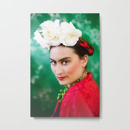 Frida was her name Metal Print