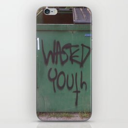 wasted youth iPhone Skin