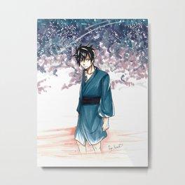 Gray Fullbuster Tanabata Metal Print