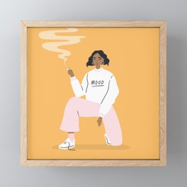 Mood Framed Mini Art Print