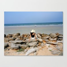 Beach Escape  Canvas Print