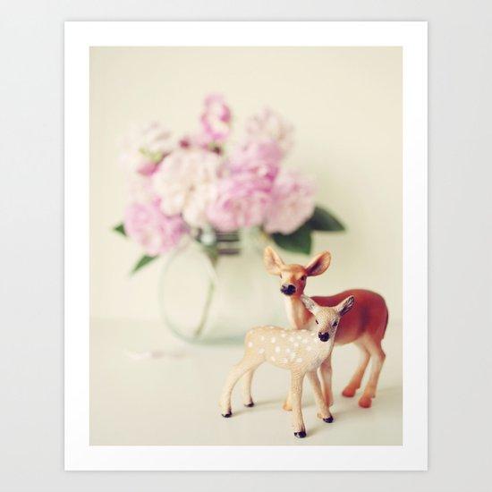 Love Mom Art Print