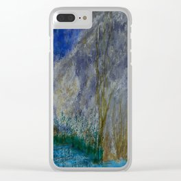 Silent Shores Clear iPhone Case