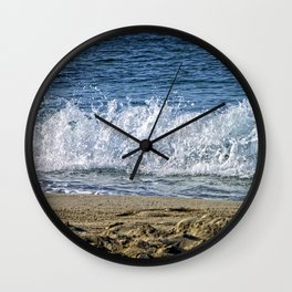 Frothy Surf Wall Clock