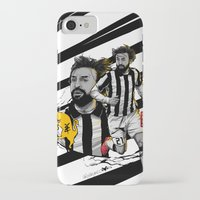 juventus iPhone & iPod Cases featuring L'architetto Di Torino by Akyanyme