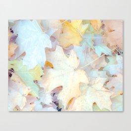 """Autumn Leaves Pastel"" by Murray Bolesta Canvas Print"