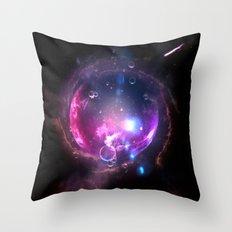 Far away... Throw Pillow