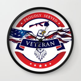 Veteran Wall Clock