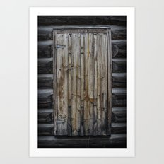 Cellar Door Art Print