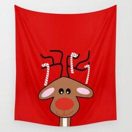 Christmas Reindeer Wall Tapestry