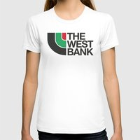 palestine T-shirts featuring The West Bank by Yusef Mubeen