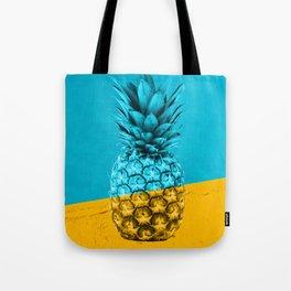 Pineapple Retro Tote Bag