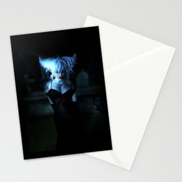 Blue Vamp Stationery Cards