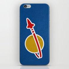 Blue Spaceman iPhone & iPod Skin