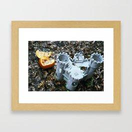 Broken Fruition Framed Art Print