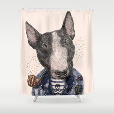 Mr.Bullblack Shower Curtain