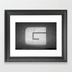 The Ghost of Gamers Past Framed Art Print