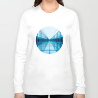 architecture Long Sleeve T-shirts featuring Architecture by GF Fine Art Photography