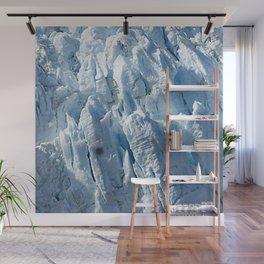 Alaskan Blue Ice Glacier Wall Mural