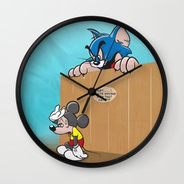 Wrong Mouse 2 (design update) Wall Clock