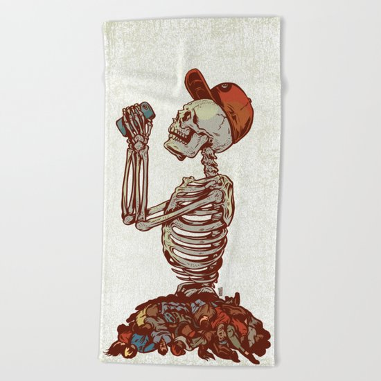 Does Anything Matter Beach Towel
